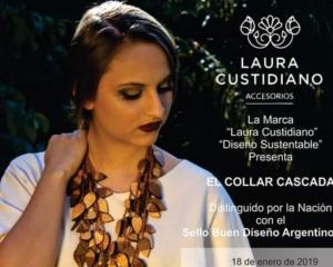 """Laura Custidiano presenta: """"El Collar Cascada"""""""