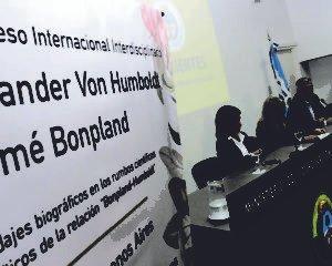 Instan a enviar propuestas de comunicación al III Congreso Internacional Humboldt-Bonpland