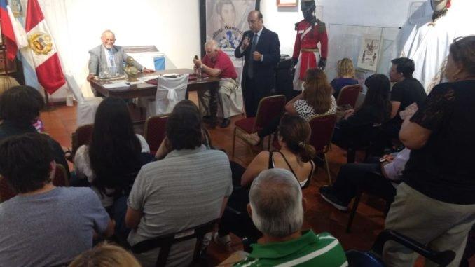 Conferencia sobre San Martín y Cabral en Casa Molinas