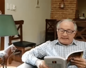 """El escritor Sánchez Mariño, relata sobre el combate de Perdriel en los """"Ciclos Culturales"""" del Histórico"""
