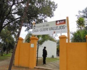 """Inauguran la Biblioteca de Escritores Correntinos en la """"Casa Museo de Güerí y Vallejos"""" de Itatí"""