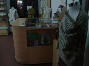 En este museo se pueden apreciar tejido artesanales muy finos, muchos de ellos están disponibles para la venta.